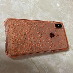Case mate iPhone XS Max Tough Fizz Pink champagne